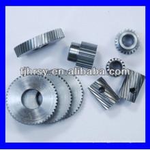Engranaje helicoidal de acero D1, M2, M3, etc.