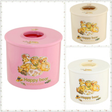 Fashionable Cartoon Plastic Tissue Box (FF-5008-3)