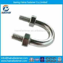 Tornillos de acero inoxidable de alta tensión 304/316 con tuercas