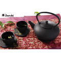 Chinese traditional cast iron metal teapot set