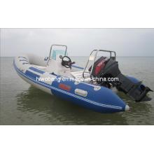 zu verkaufen 4,2 m Firberglass Rib Boat