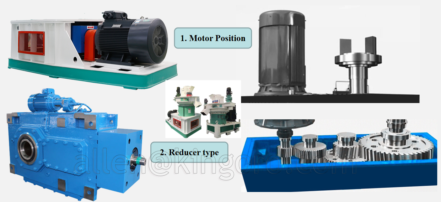 pellet machine reducer
