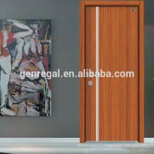 Porte intérieure en bois mélaminé