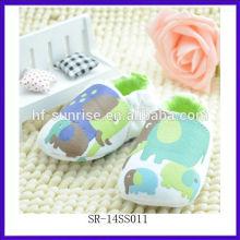 SR-14SS011 neue Tier verzieren Baby Schuhe Mode Baby Schuhe 2014 China Großhandel weichen einzigen Baby Lederschuhe
