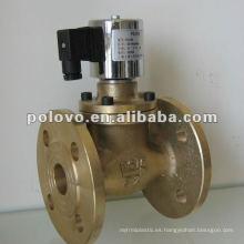 Válvula de solenoide de 2 pulgadas de vapor bridado ZCZP