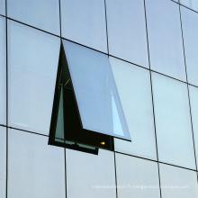Prix du mur-rideau unitaire pour bâtiment commercial
