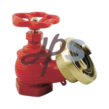brass landing fire hydrant angle valve with storz