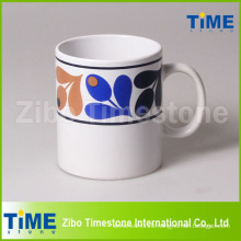 Big Capacity Stoneware Mug with Decal