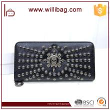 Bolsa de couro de design exclusivo para carteira de mulher