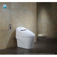 Zeitgenössisches Badezimmer Länglicher einteiliger keramischer intelligenter Toilettenpreis