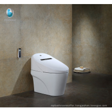 Contemporary Bathroom Elongated One piece Ceramic Intelligent Toilet price