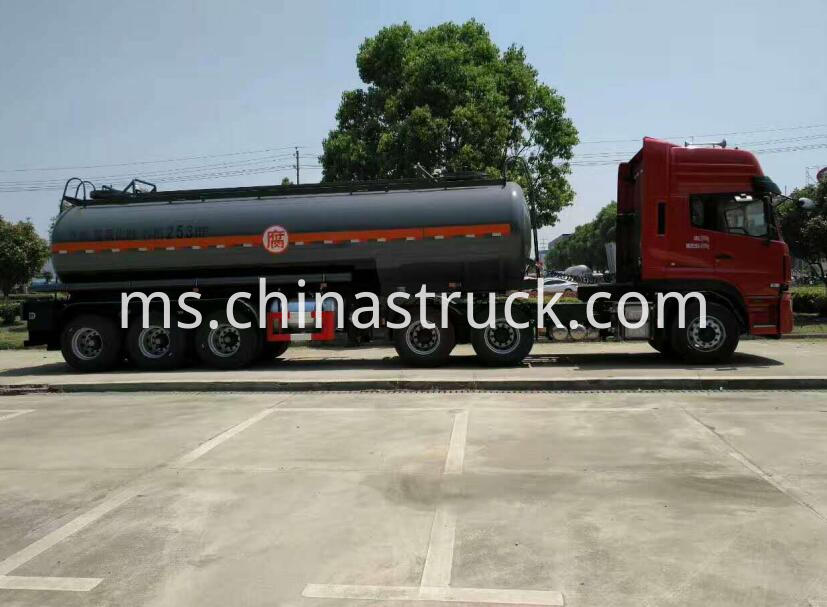 3 axle Naoh tank semi-trailer