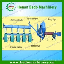 rice husk briquettes production line made in China & 008613938477262