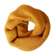 Womens Unisex Neck Warmer Thick Winter Knitted Scarf Loop Snood (SK143)