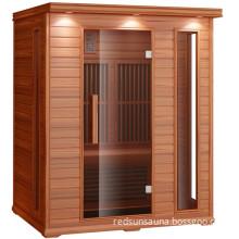Red Cedar Sauna Room