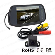 Зеркальная фотокамера с монитором и автомобильной камерой