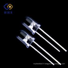 Large LED UV ronde de l'utilisation 395-400NM 5mm avec le CE et le ROHS conforme