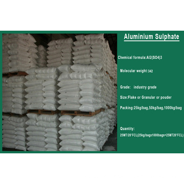 Best Price and Quality Aluminium Sulfate for Use in Water Treatment
