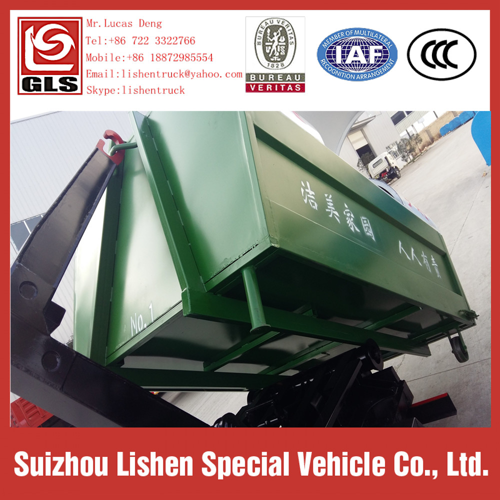 Garbage 4*2 Swing Arm Trucks 3 CBM Garbage