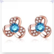 Boucles d'oreille en cristal Bijoux en argent 925 Bijoux en argent sterling (SE080)