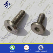 ISO7380 pan head socket hex head bolt