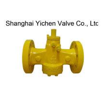 Válvula de encaixe com flange lubrificada invertida (DX41)