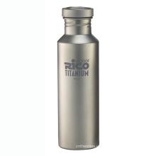 Deportes de titanio de alta calidad botella de 700ml