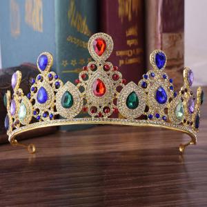 Tiaras y coronas de diamantes de boda de estilo barroco