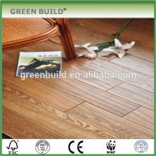 Random length UV oil elm solid wood flooring