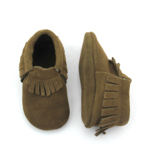 Suede Leather Baby Moccasins Shoes Groothandel