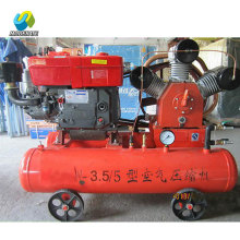Zimbabwe Gold Mining Diesel Mobile Piston Air Compressor
