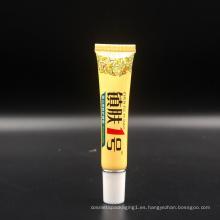 impresión de la pantalla, tubo de empaquetado cosmético de la impresión en offset para la crema de la piel del bebé