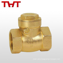 DN50/PN16 spring brass swing a check valve for diesel