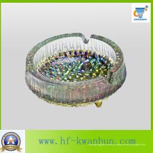 Cinzeiro redondo de vidro de cor com bom preço Kb-Jh06181