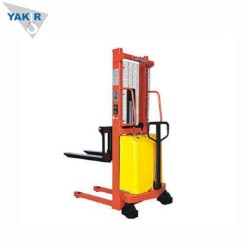 2 ton Semi Electric Stacker Elgaffeltruck