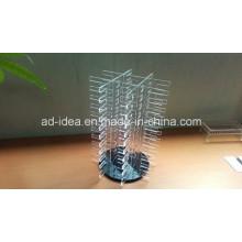 Prático Acrílico carrinho de exposição / Exposição para Apresentação Tile