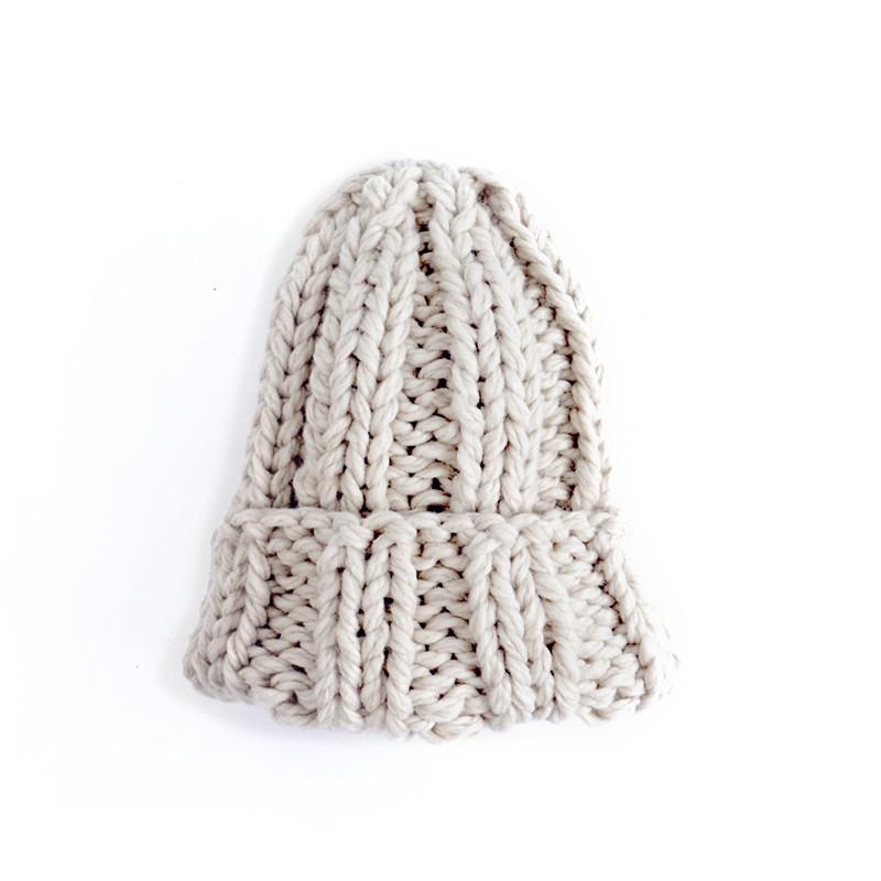 Winter warm shag hat knit hat ear cap (3)