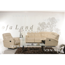 Италия Кожаный угловой диван (865 #)