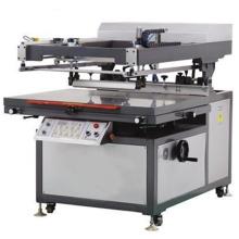 Máquina automática de la impresora de la pantalla del brazo oblicua / máquina de impresión de la pantalla para el papel