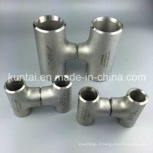 ANSI B 16.9 pièces jointes de soudure bout à bout en acier inoxydable Bw réduisant le Tee (KT0381)
