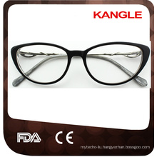 2016New design colorful acetate optical glasses