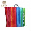 Best Selling Durable & Reusable Custom Print Flexiloop Handle Plastic Tote Bags with Handles