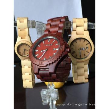 Handmade Natural Genuine Bamboo Wooden Watch