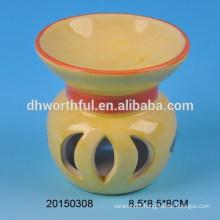 Promotional home decoration ceramic incense burner