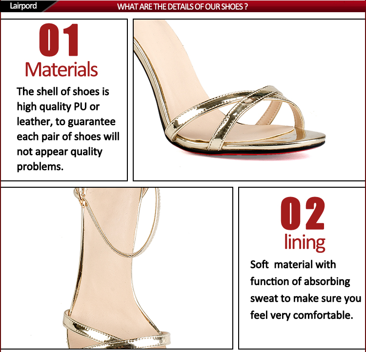 rubber sole high heel sandals wholesaler women
