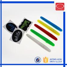 Colorful barrel colorful wet erase chalk pens