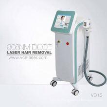 Permanent hair removal 808 diode laser epilator
