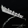 Wholesale Silver Wedding Crystal Crown Bridal women Ballet Tiara ballet bride luxurious headpieces