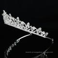 Atacado Silver Wedding Crystal Crown nupcial mulheres Ballet Tiara ballet noiva headpieces luxuosos