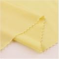 Tecidos de malha respirável de poliéster amarelo de seda gelada respirável